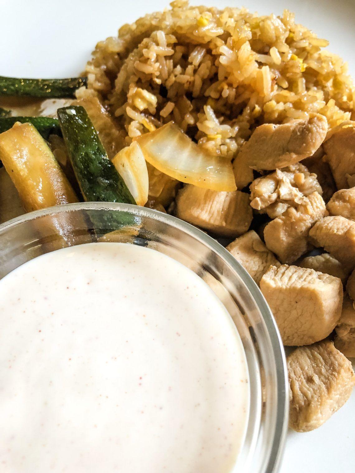 Asian wite suce recipe