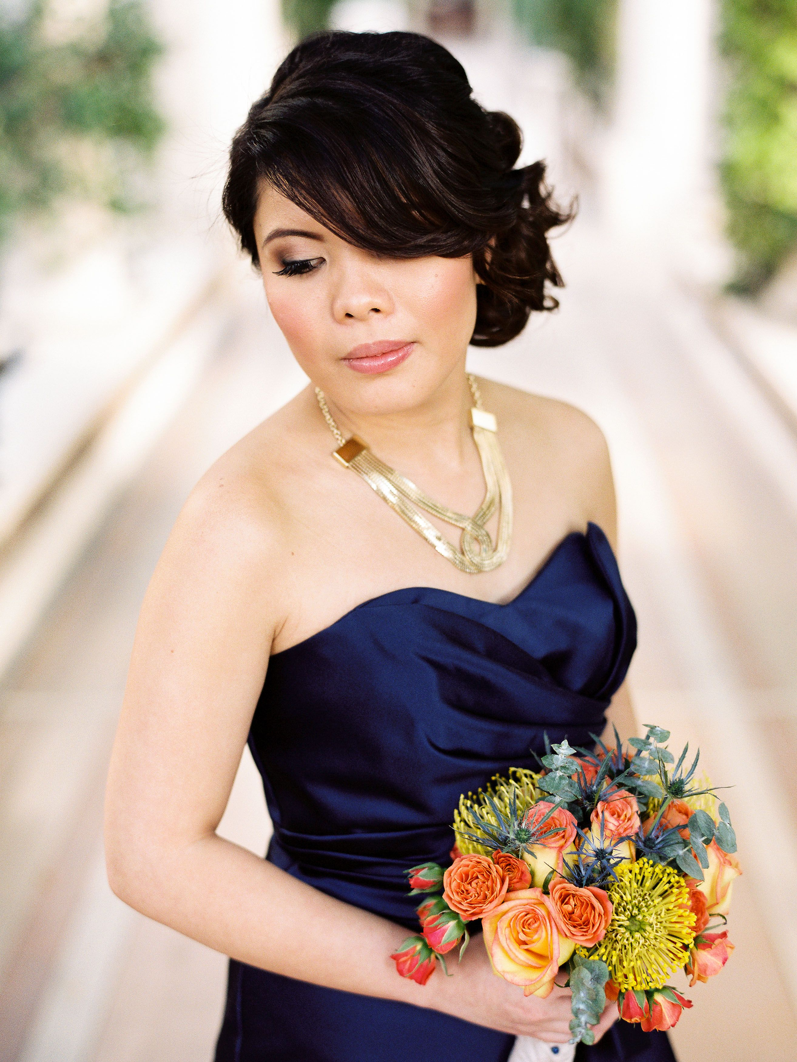 las vegas wedding hair and makeup by amelia c co photography by brian saculles