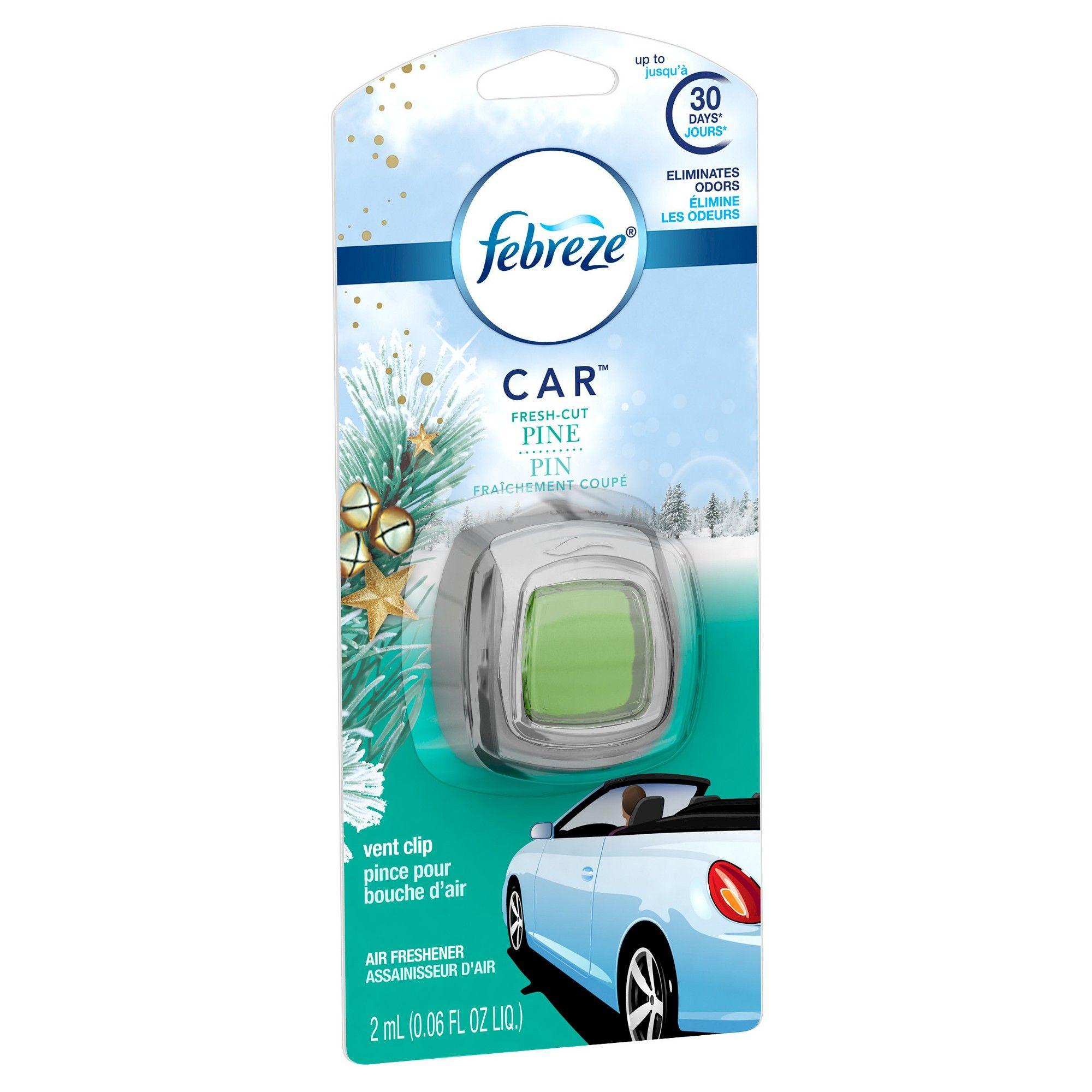 Febreze Car Pine, 1ct, Air Fresheners Febreze car, Car