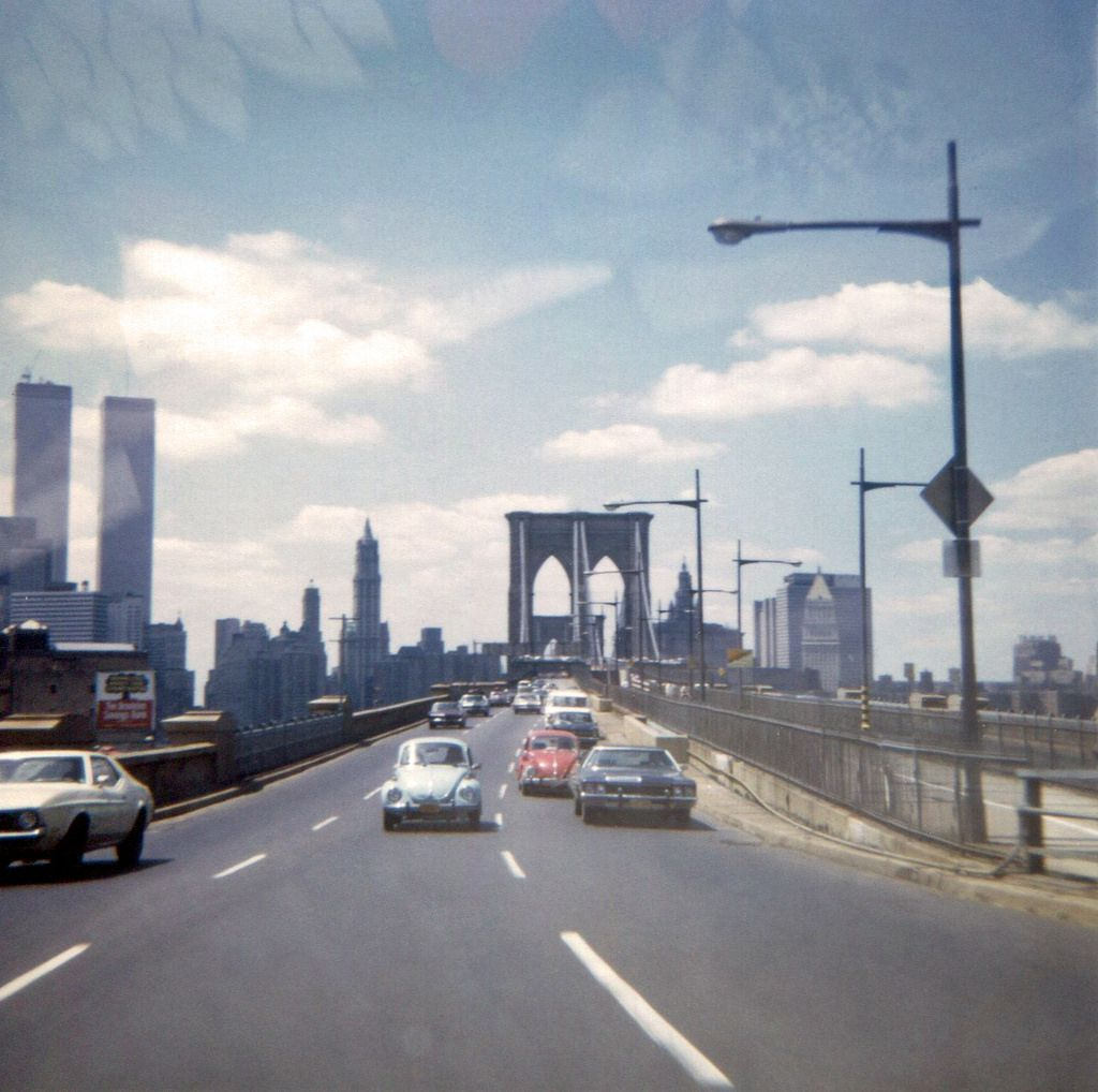 Take a look to see how much New York has changed from the 1970s through these amazing color snapshots below.      5th Avenue and 58th Street...