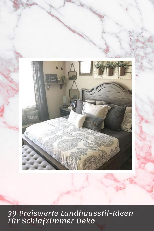 39 Preiswerte Landhausstil Ideen Fur Schlafzimmer Deko