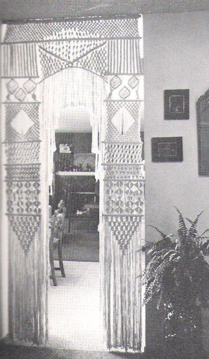 Macramé - back in the day, I made so many of these, all