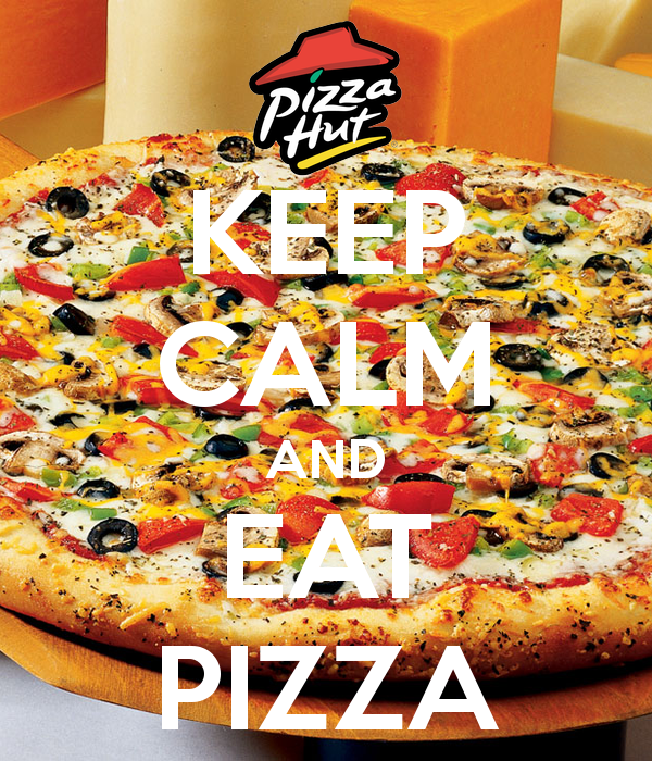 KEEP CALM AND EAT PIZZA - KEEP CALM AND CARRY ON Image Generator