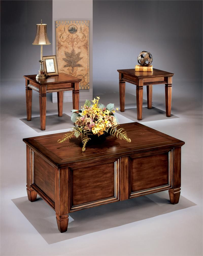 Bongo t trunk style piece table set furnish america for