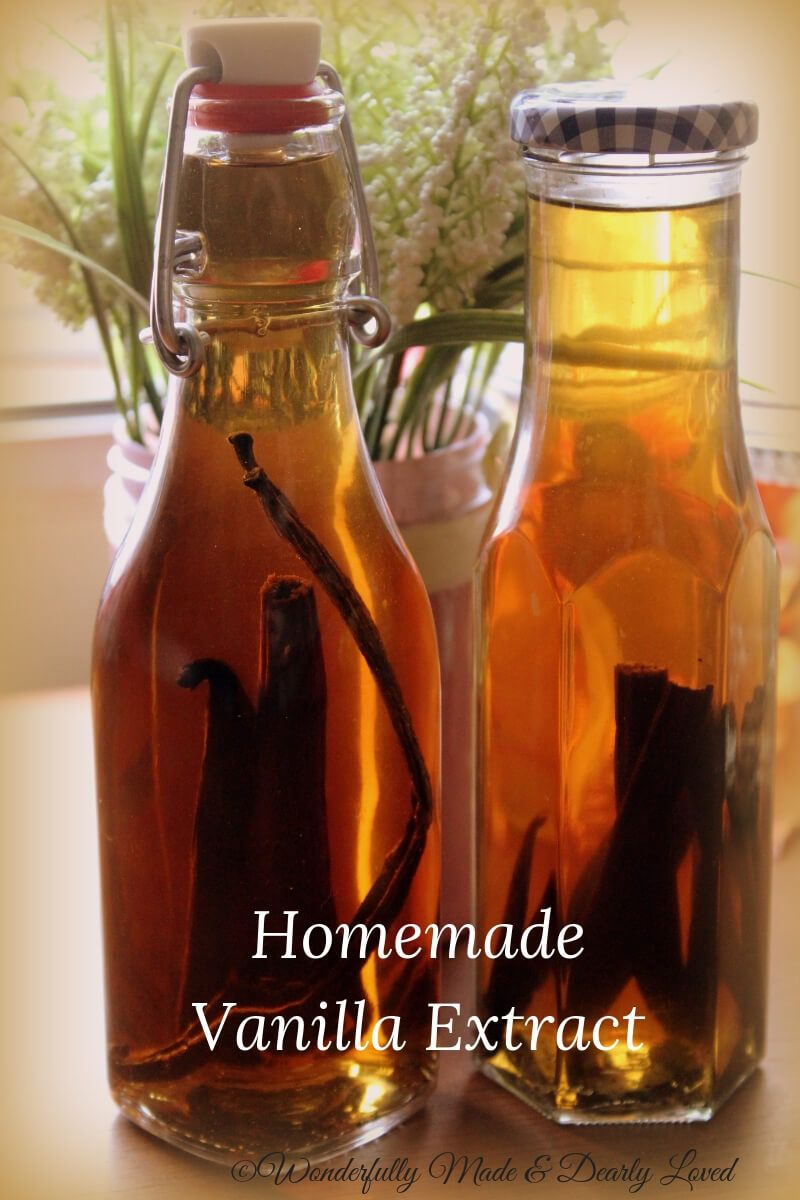 Vanilla Extract Recipe Homemade vanilla, Homemade