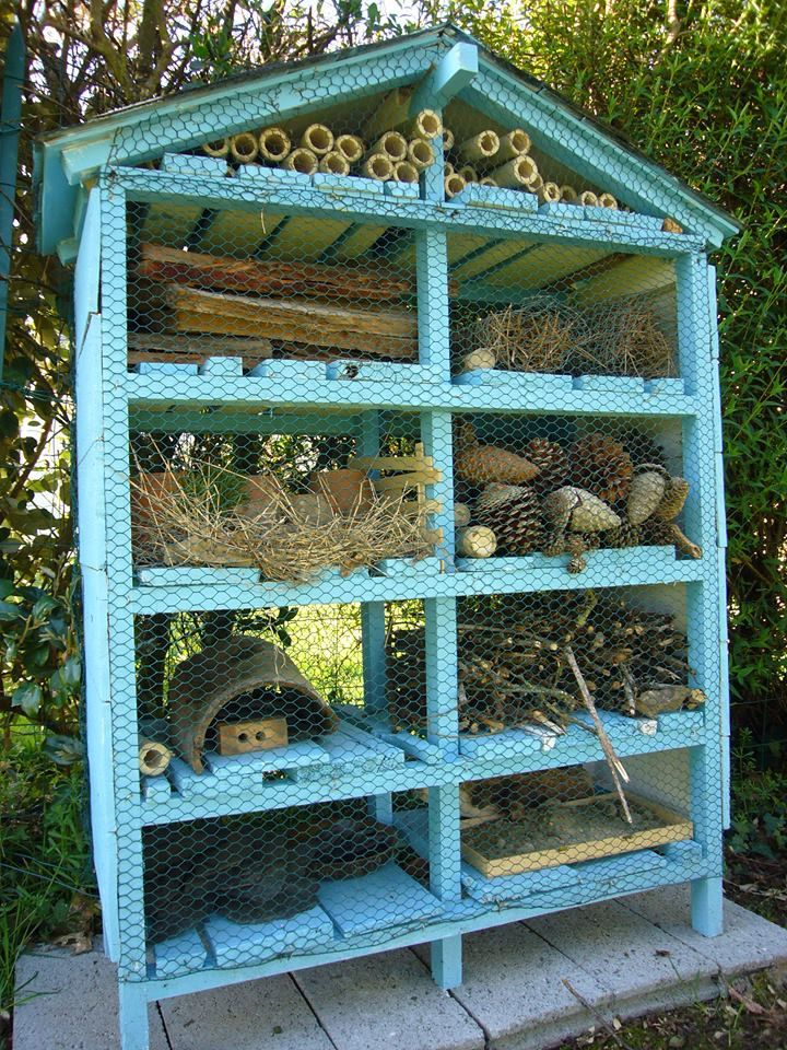 H tel insectes camping ty nenez insect hotels - Hotel a insectes ...