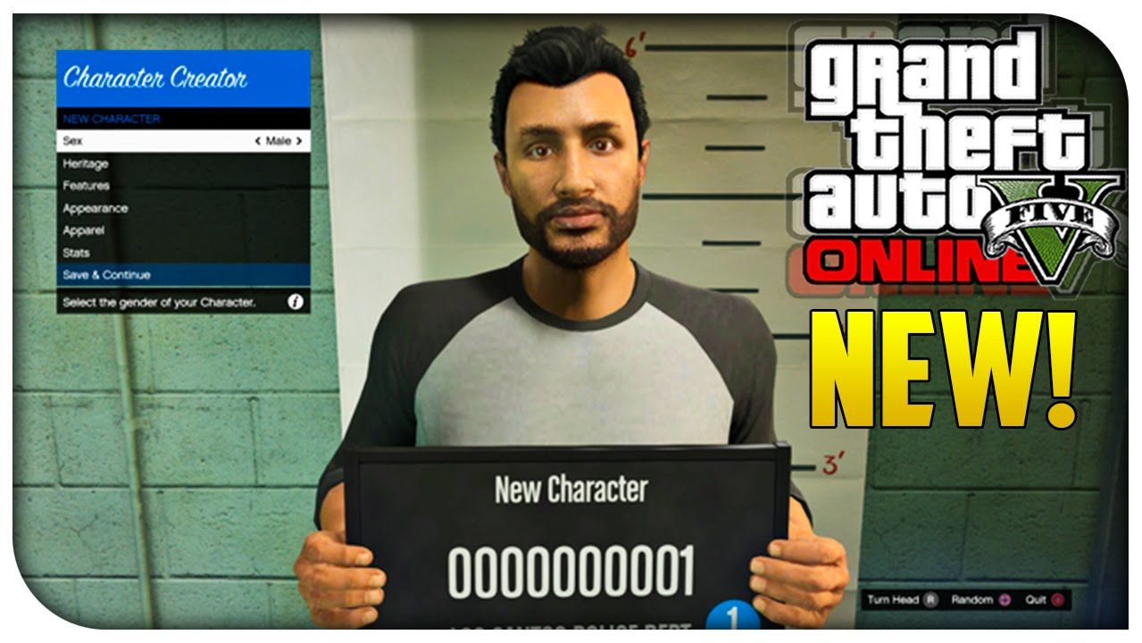 GTA 5 Online - NEW Character Creation Screen, HEISTS on All