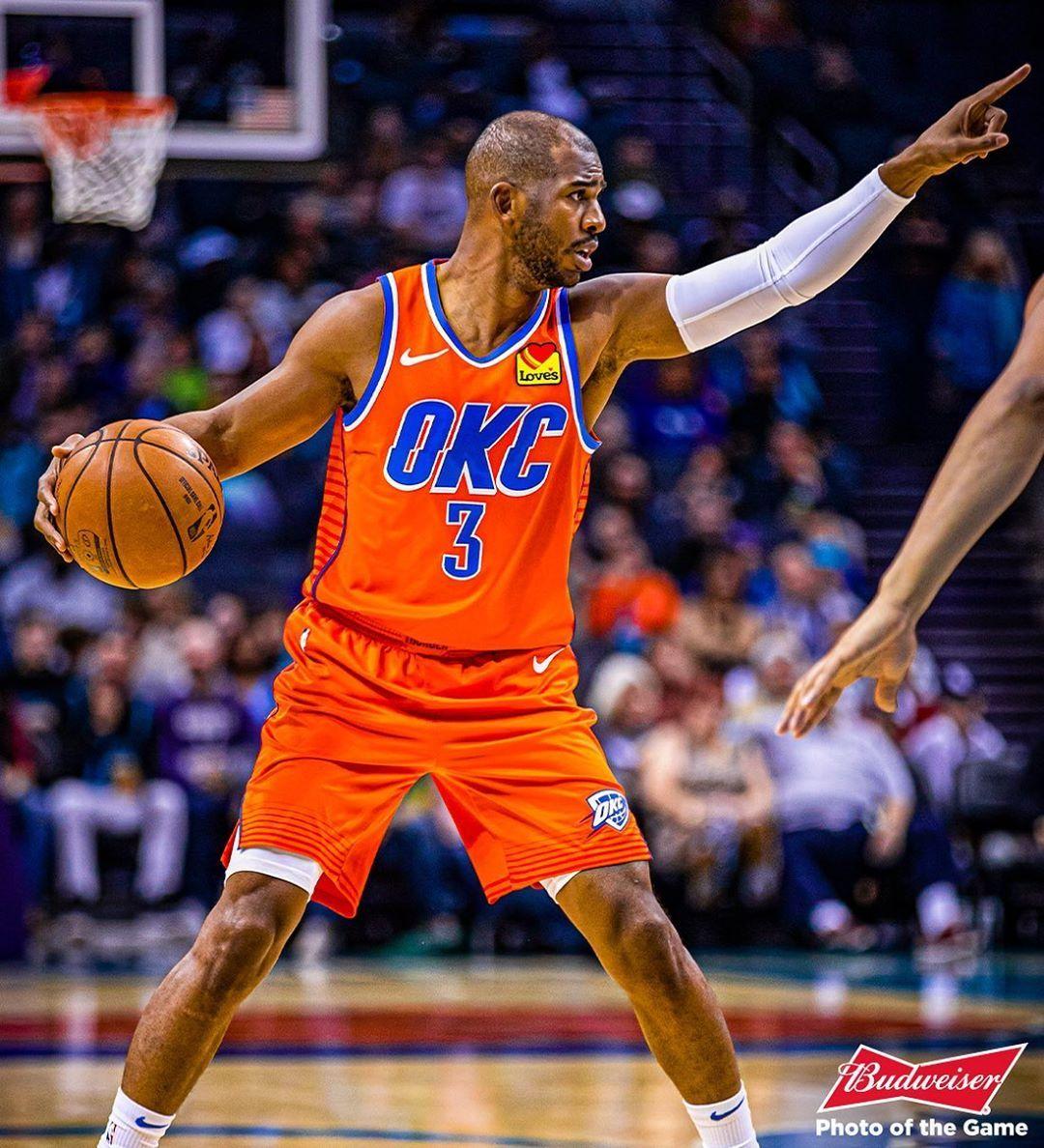 Oklahoma City Thunder Up Next Toronto Oklahoma City Thunder Chris Paul Oklahoma City