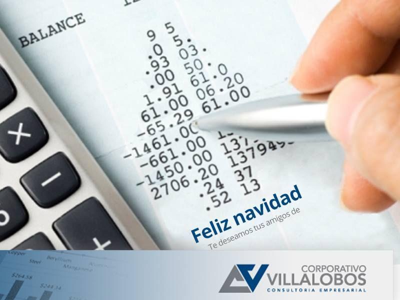 Tarjeta Navidad Corporativo Villalobos.