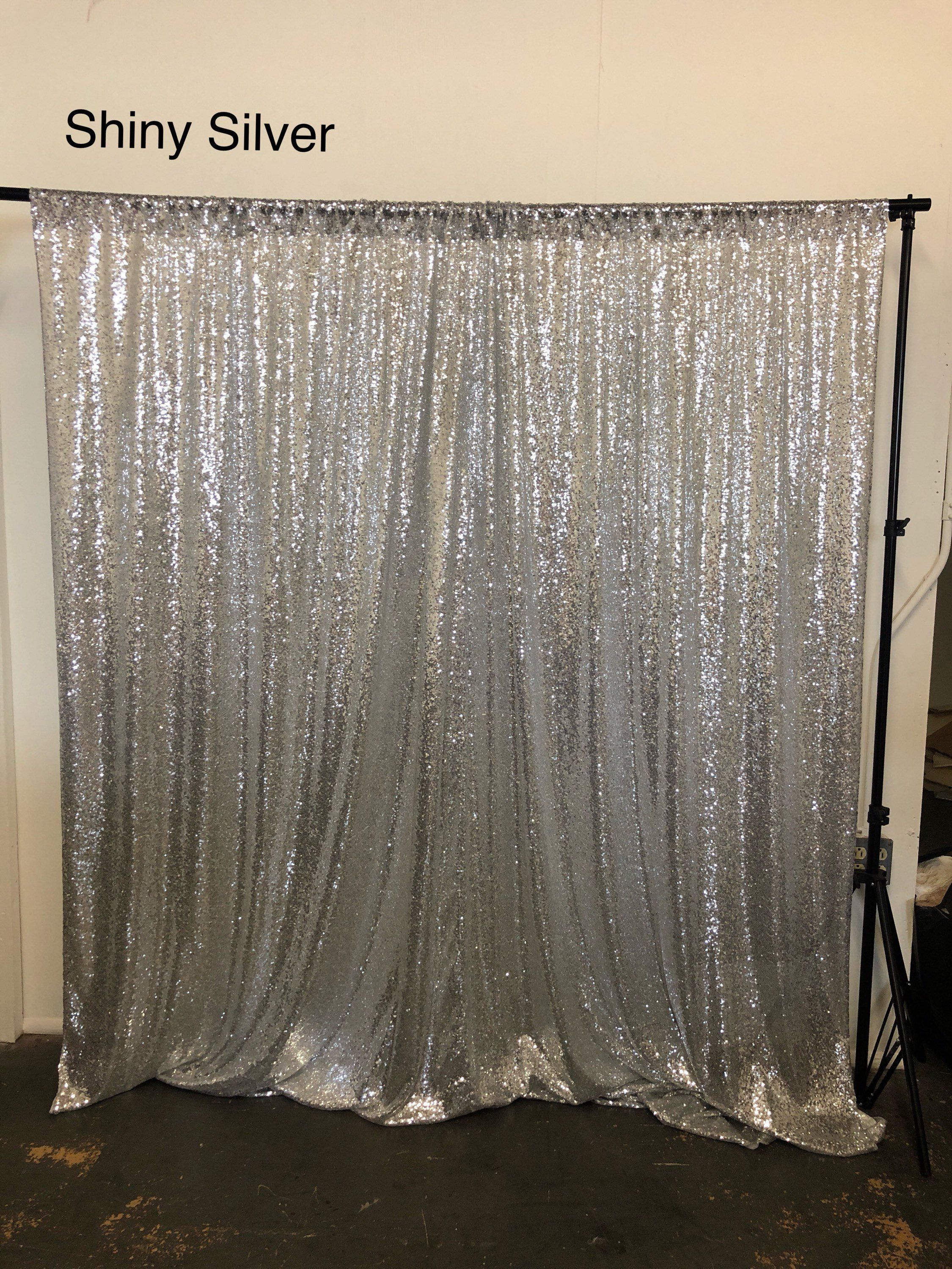 Sale Silver Sequin Photo Backdrop Sequence Wedding Photo Booth