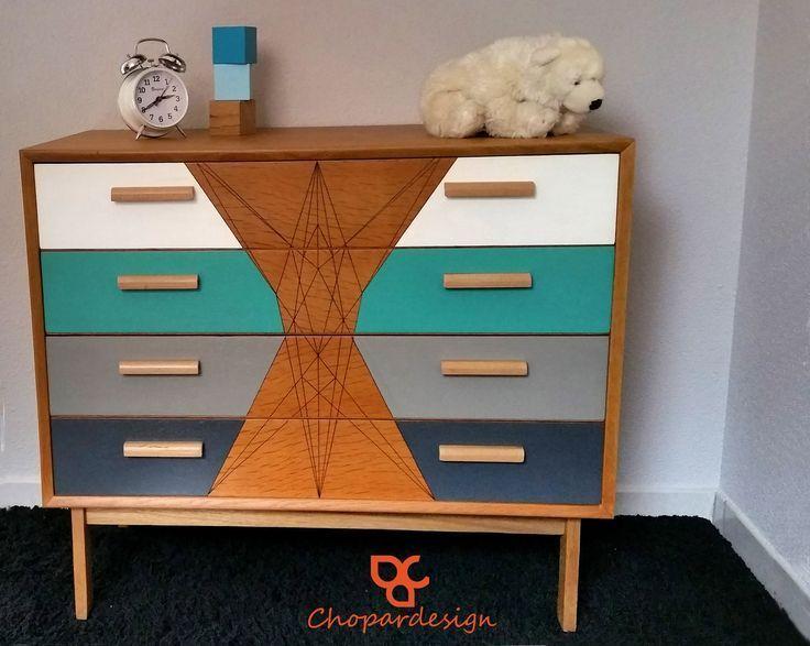 Peinture Pour Renover Un Meuble En Bois meubles Pinterest Mid