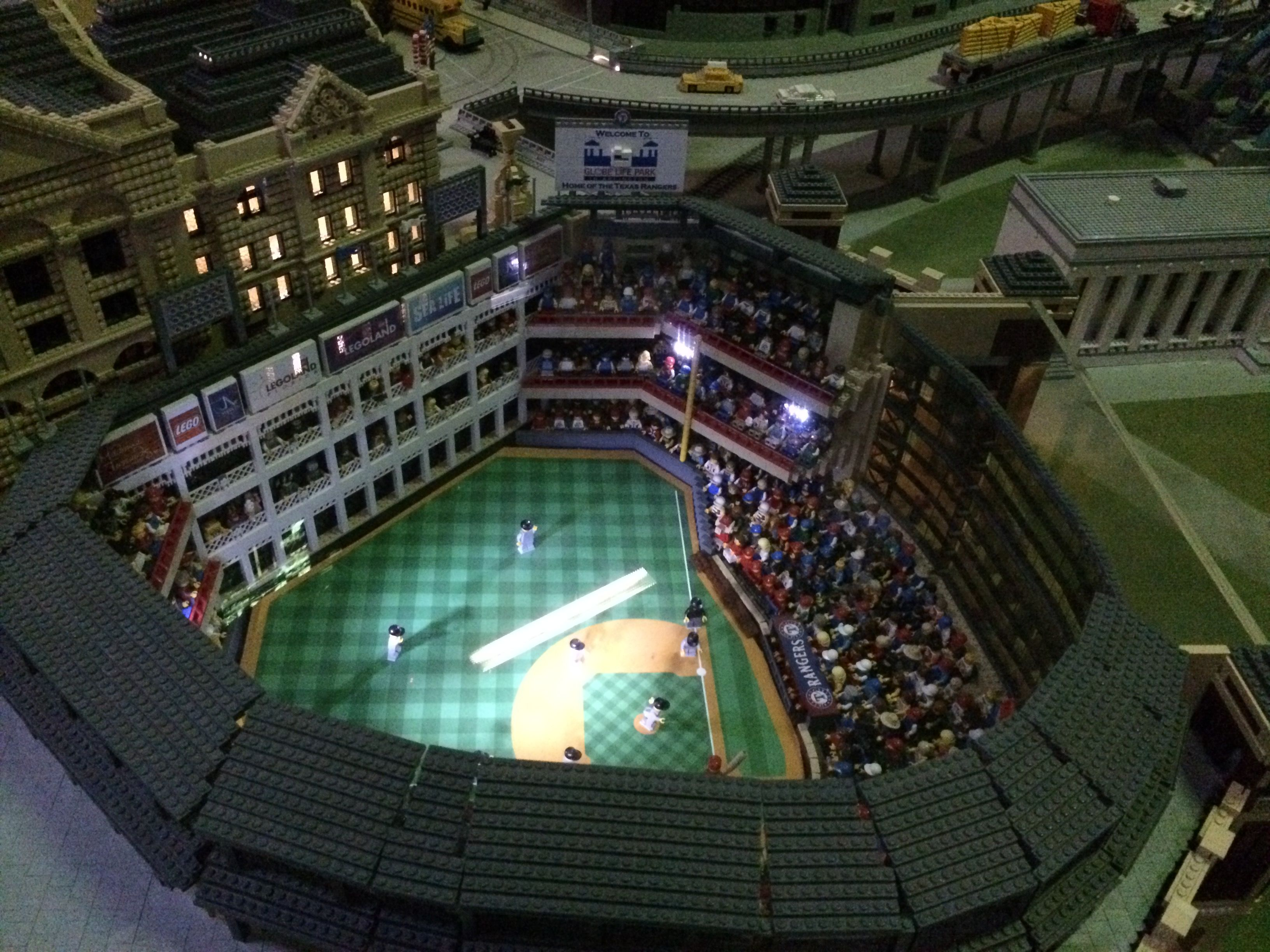 Check out this incredible Lego replica of the Texas