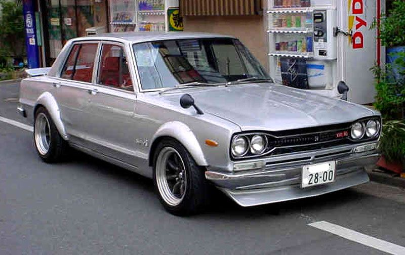 1969 nissan skyline Gtr! Best old Japanese sports car