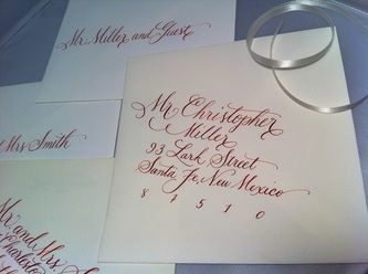 Everly Calligraphy... Mel this is the lady I was telling you about that isn't crazy expensive.