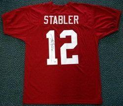 pretty nice d7504 c2bd0 Ken Stabler Alabama Crimson Tide NCAA Hand Signed Authentic ...