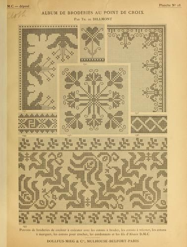 Album de broderies au point de croix | Kanaviçe tasarımları, Kanaviçe, Kanaviçeler