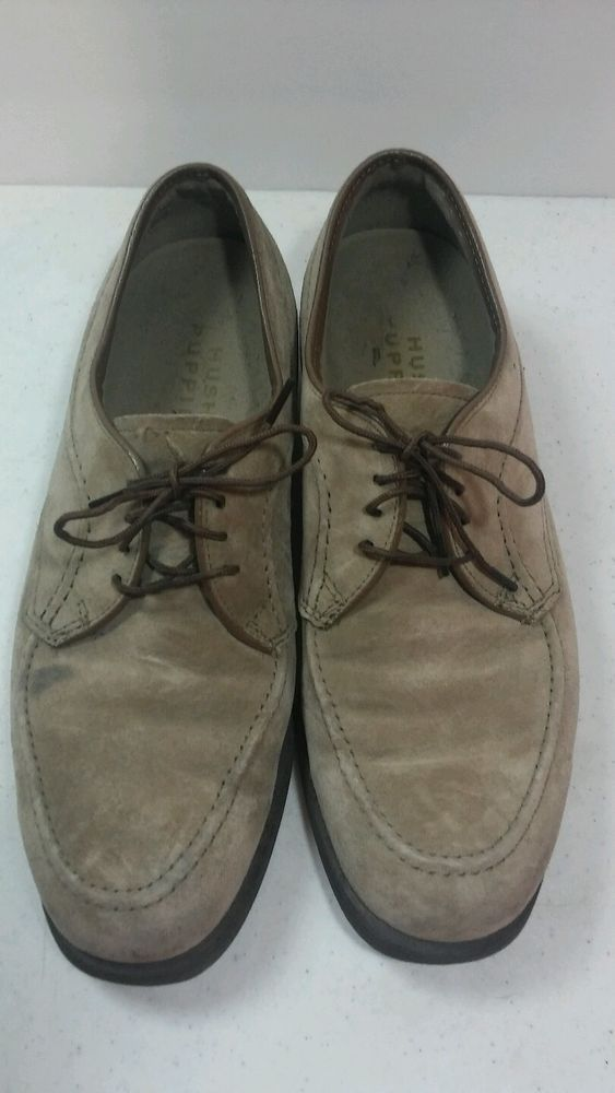 Vintage Men S Suede Duke Hush Puppies Shoes 9 M Hound Dog Brown Oxfords Hush Puppies Shoes Men Suede Brown Oxfords