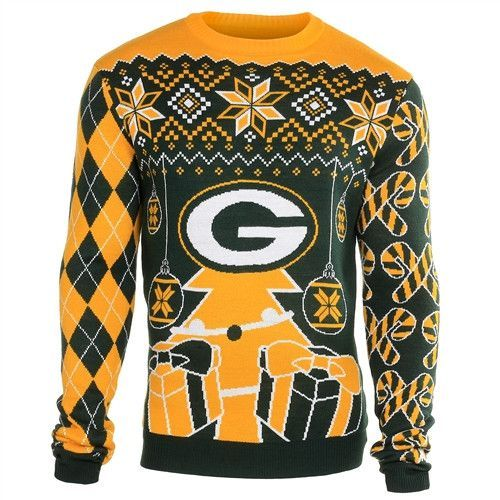 super popular 64820 65edc Green Bay Packers Holiday Ugly Sweater | Products | Green ...