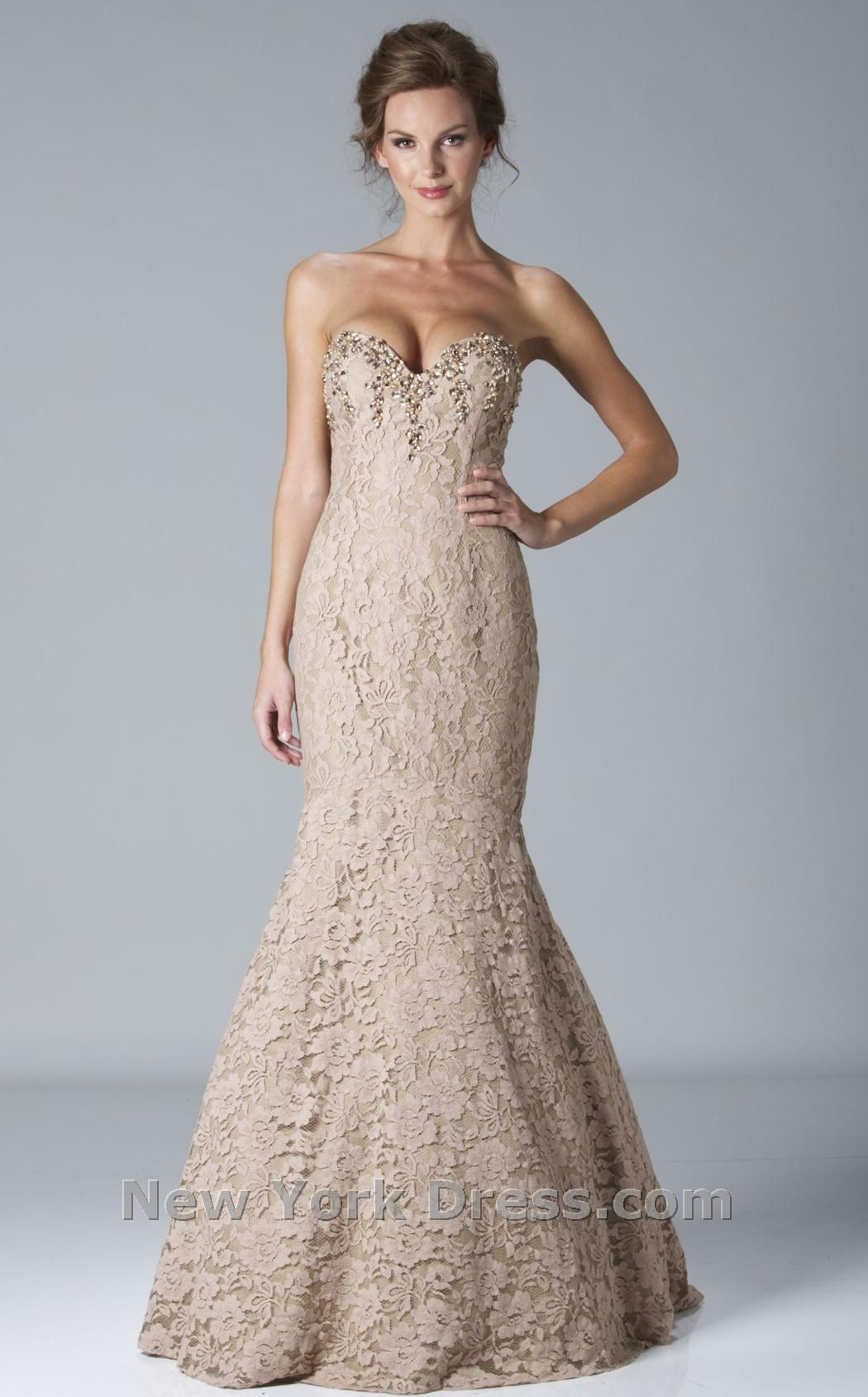 Janique dress jq romantic evening gowns and lace overlay