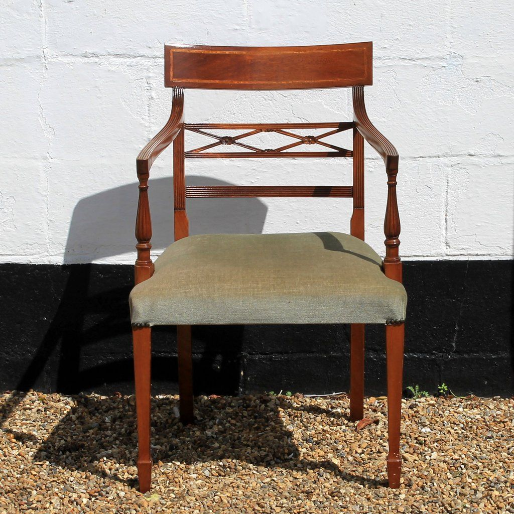 Antique Reproduction Mahogany Carver Dining Chair - Antique Reproduction Mahogany Carver Dining Chair Antique Chairs