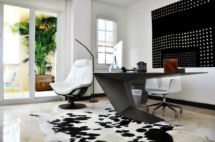 top trends in home office design - Contemporary Home Office Design