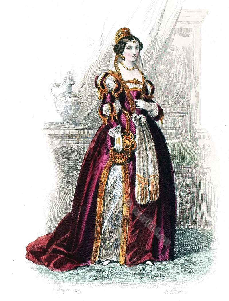 Renaissance fashion history in the Reign of Francis I  1515