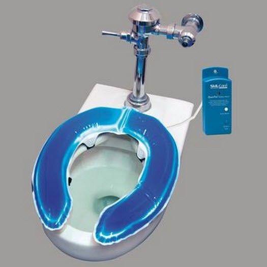 heated padded toilet seat. Skil Care Gel Foam Toilet Seat Cushion Alarm System