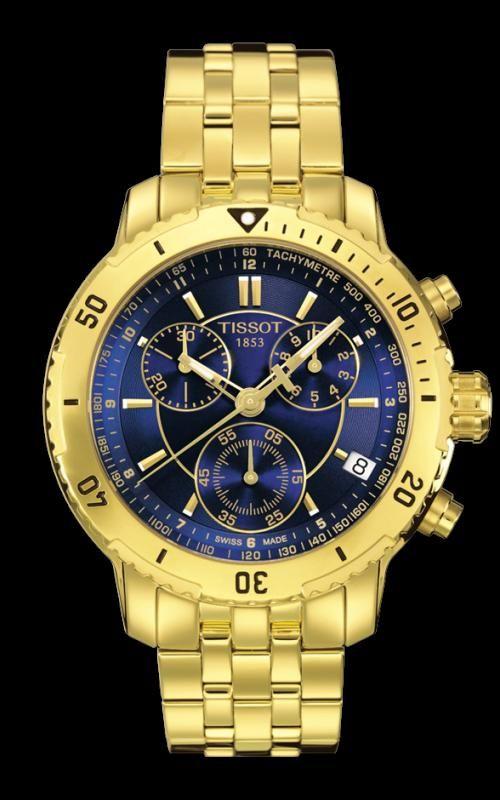 5a7fdda93c4 tissot prc200 dourado Relógios Fashion