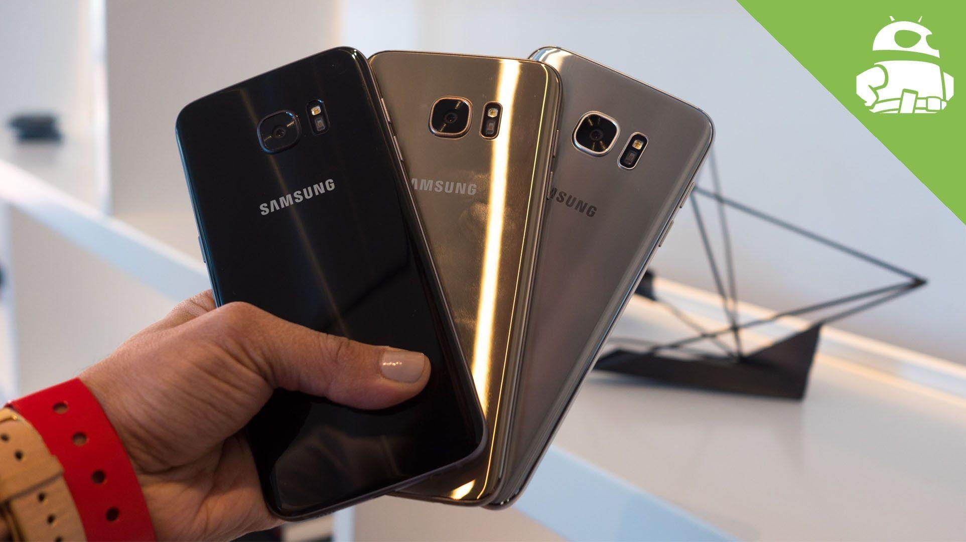 Galaxy S7 Edge Color parison