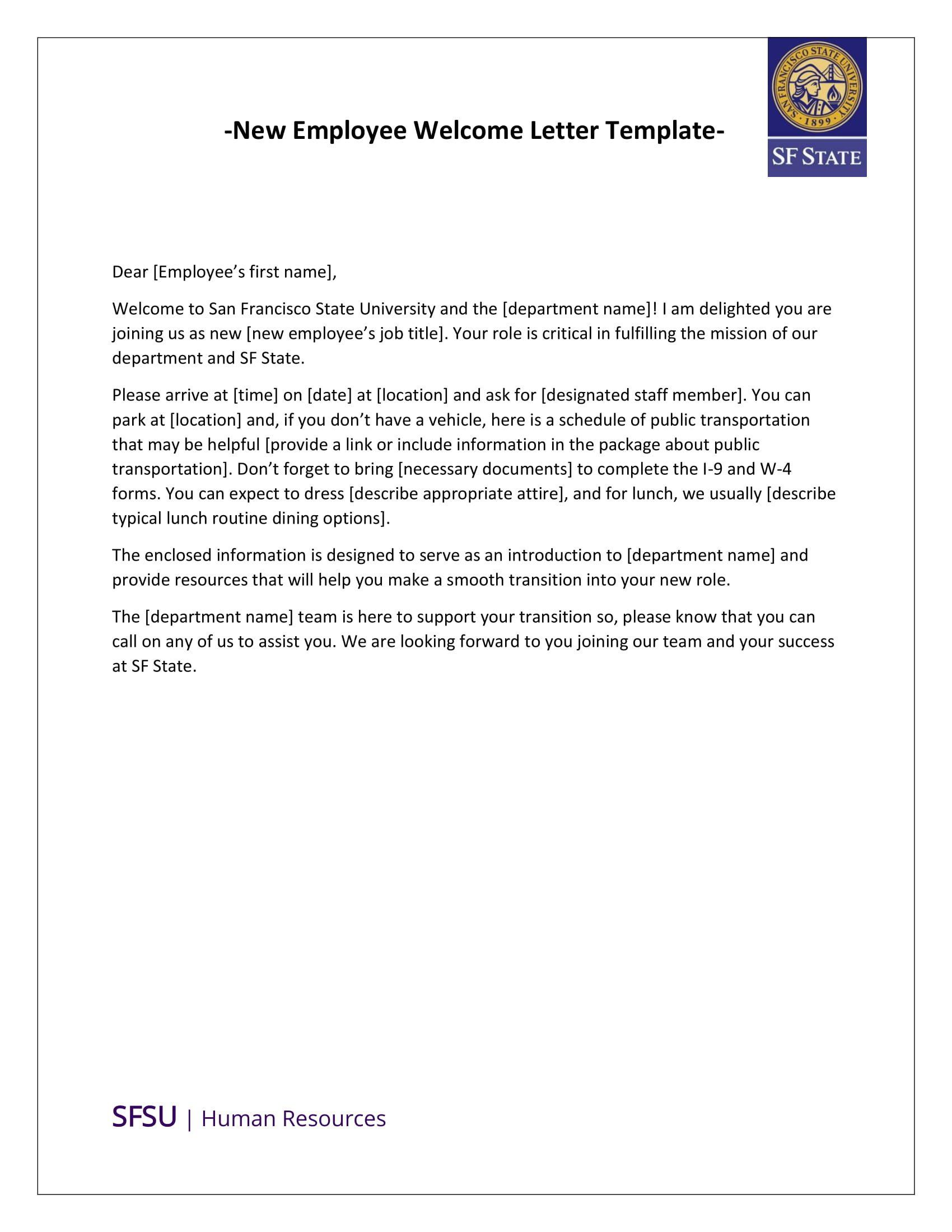 Welcome To Our Team Letter from i.pinimg.com