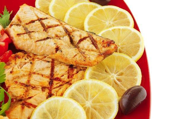 Easy Grilled Lemon Salmon #Recipe