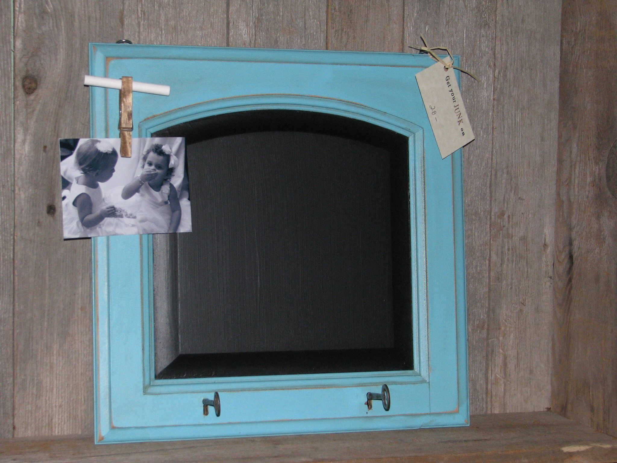 Clever chalkboard and chalk holder | Craft Projects | Pinterest ...