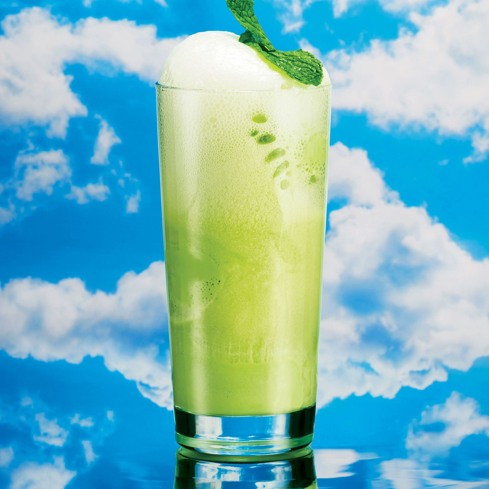 Green Tea And Ginger Beer Float Recipe With Images