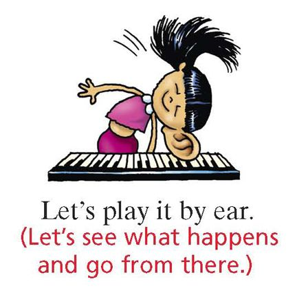 It The phrase by ear play