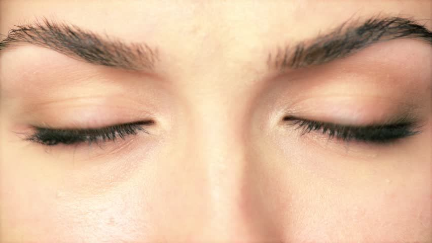 Beauty Macro Close-up Eye Blinking Stock videoer 3662471 - Shutterstock