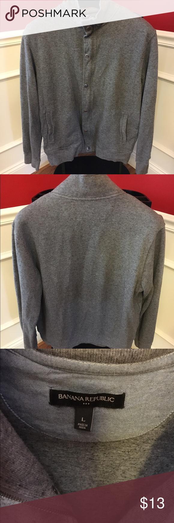 Banana Republic Men S Button Down Sweatshirt Banana Republic Men Sweatshirt Shirt Clothes Design [ 1740 x 580 Pixel ]