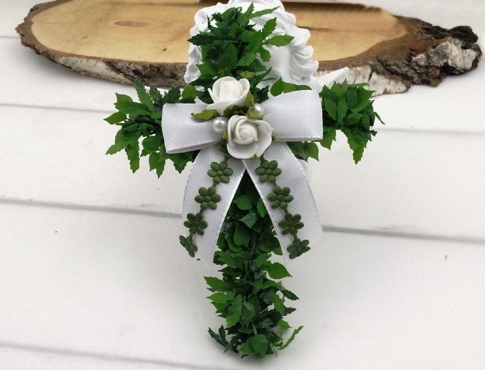 3x Kreuz Grun Weiss Tischdeko Hochzeit Kommunion Taufe Ebay Kommunion