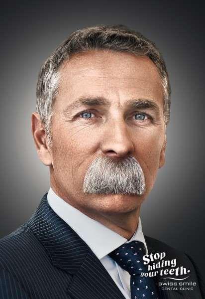 Mouth-Covering Mustache Ads | D | Smile dental, Dental, Advertising