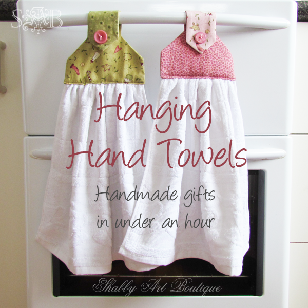 Shabby Art Boutique Handmade Gifts Hanging Hand Towels My Grandma Had These And I