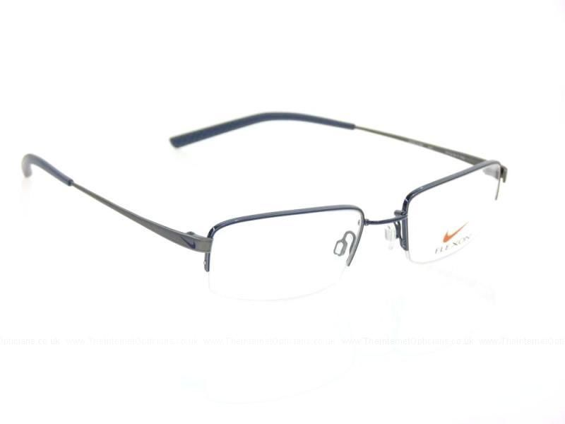 4fc545c2ce NIKE Eyeglasses 4192 441 New Blue Charcoal 51MM 19mm 140mm NEW Flexon  Flexible  NIKE