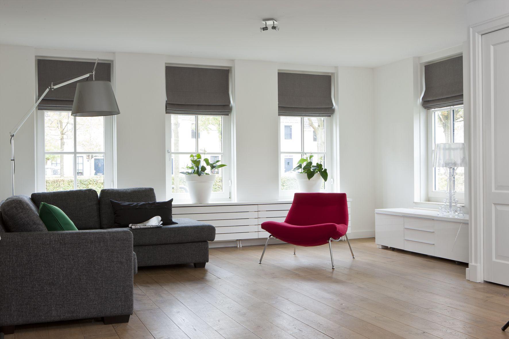 Vouwgordijnen landelijke stijl for the home pinterest roman blinds living rooms and milling - Moderne lounge stijl ...