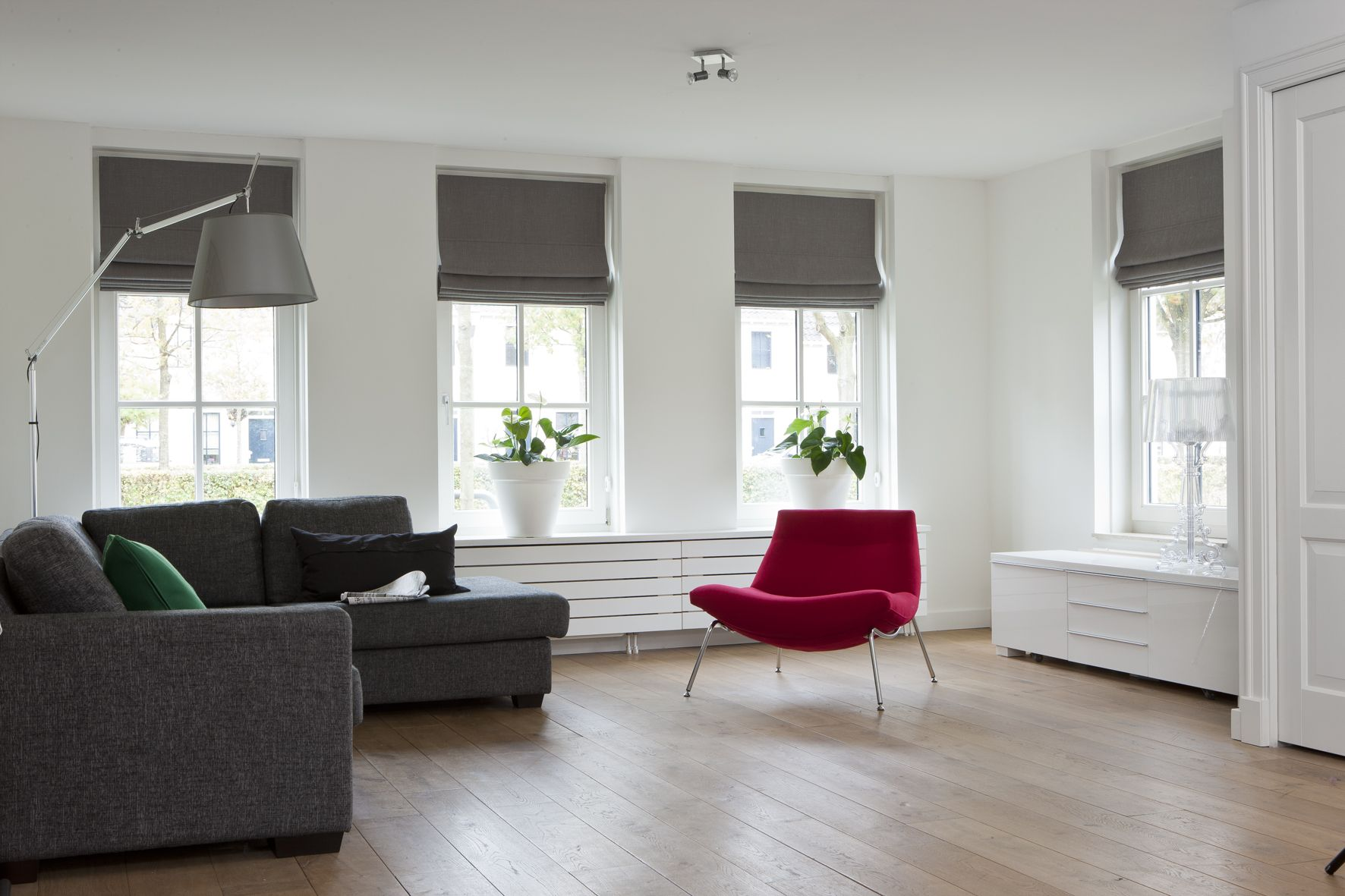 Vouwgordijnen landelijke stijl for the home pinterest for Slaapkamer landelijk modern