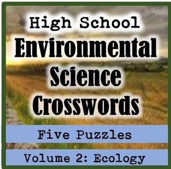 These high school (AP or general) environmental science crosswords make wonderful vocabulary reviews for students. This pack consists of five ecology crossword puzzles, plus an answer key. The crossword puzzles are: 1) Evolution (species, speciation, endemic, biodiversity, Darwin, evolution, extinction, billion, phylogenetic tree, adaptation, population, fossil, artificial selection, natural selection, divergent evolution, convergent evolution, mutation) 2) Population Ecology (developed…