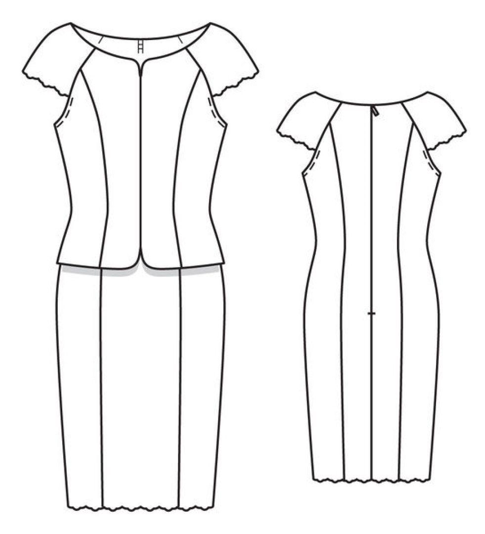Платье | Burda style | Pinterest