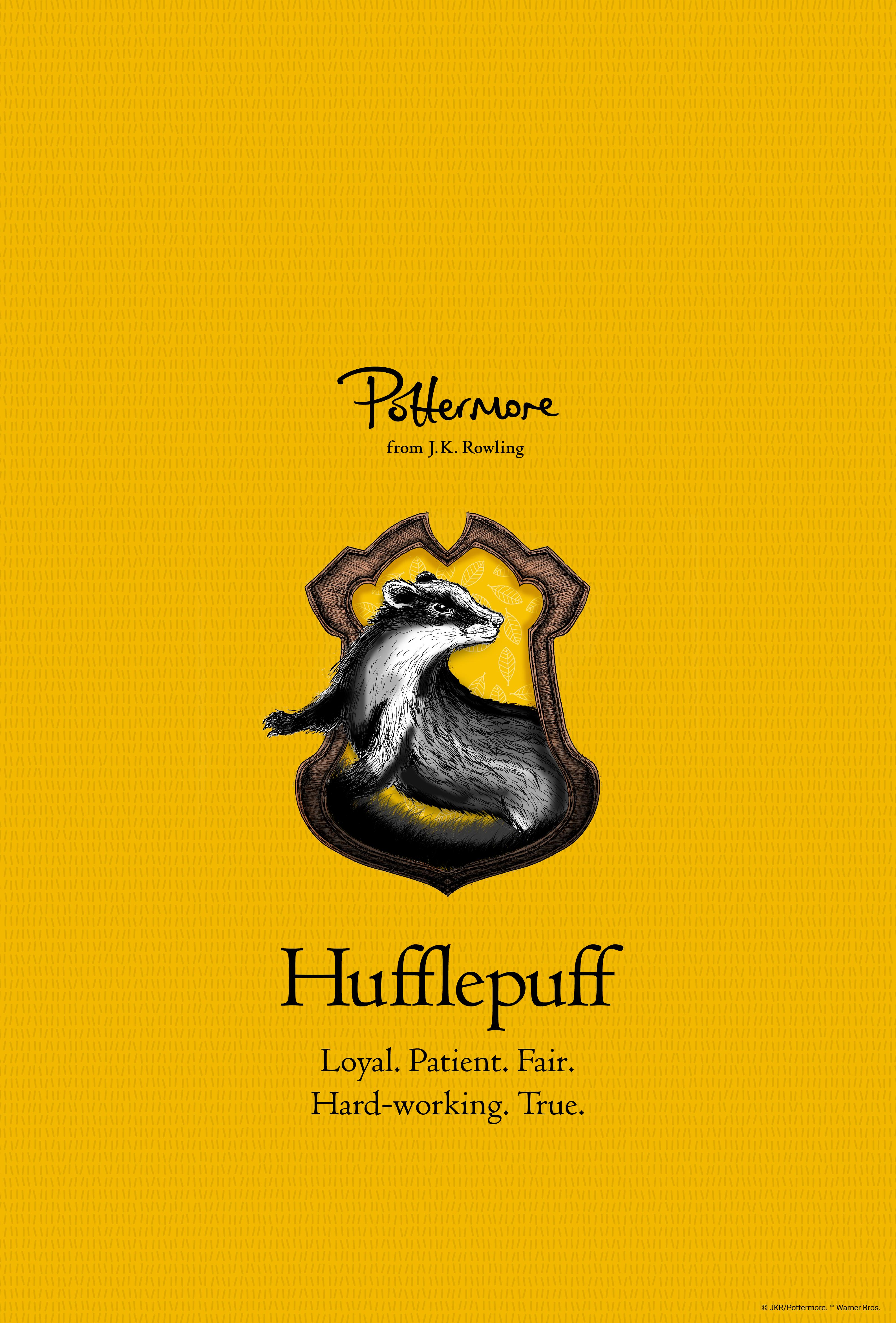 phone hufflepuff wallpaper pottermore l u m o s