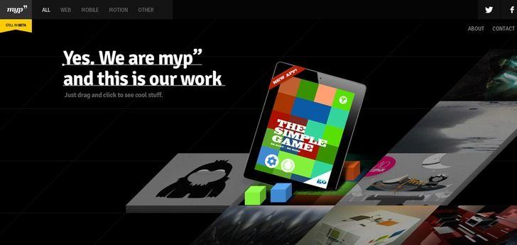 Medios y Proyectos website has a Great Web Design | Best Web Designs