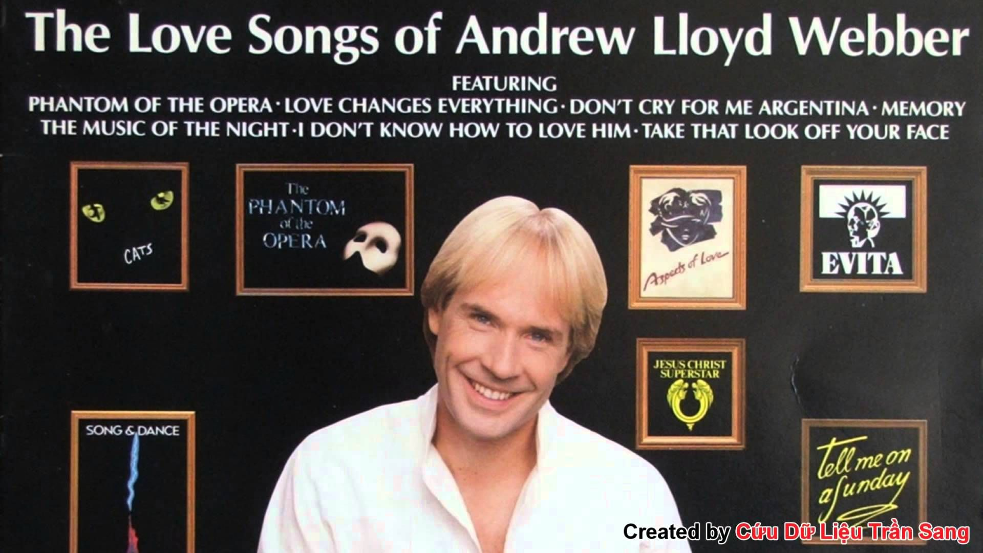 Richard Clayderman 1990 The Love Songs Of Andrew Lloyd Webber