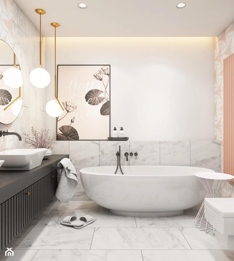 Akcjainspiracja Mala Biala Szara Lazienka W Bloku W Domu Jednorodzinnym Bez Okna Styl Nowoczesny Z Bathroom Interior Design Bathroom Inspiration Interior