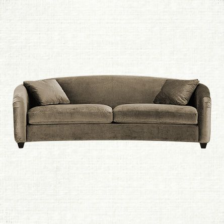 Empire 96 Quot Upholstered Sofa In Brussels Quail Arhaus