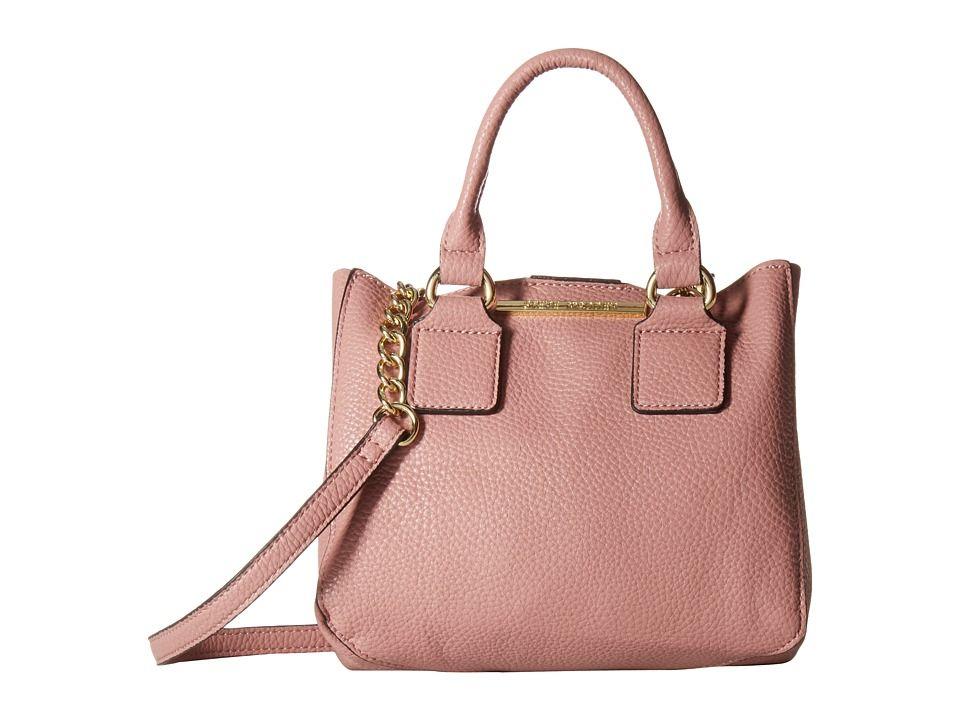 966f1659f49 STEVE MADDEN STEVE MADDEN - BMICRO TRIPLE ENTRY SATCHEL (DUSTY ROSE)  SATCHEL HANDBAGS.  stevemadden  bags  shoulder bags  hand bags  leather   satchel